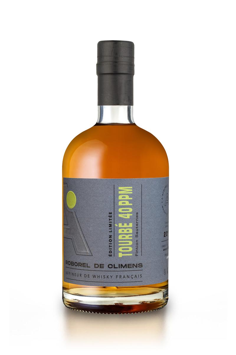 Whisky Français Tourbé 40 PPM Finition Sauternes